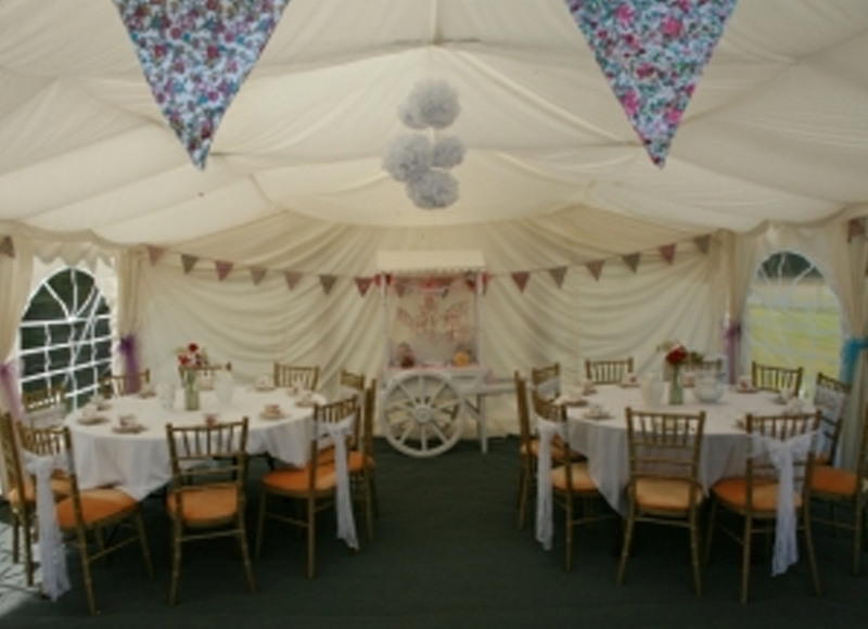 Marquee Hire Sussex Marquee 6m X 6m