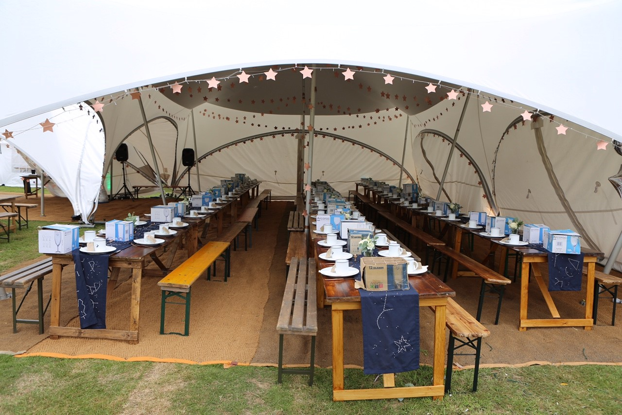 Trapeze Marquee Trapeze Marquee Hire West Sussex